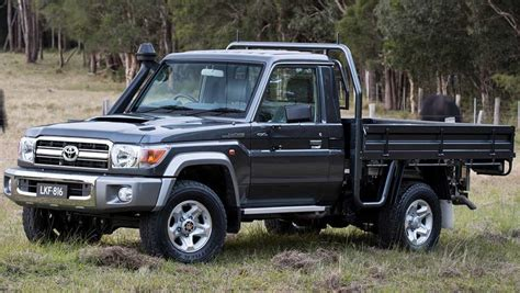 A comfort while driving is ensured on one hand with their robust chassis that offers a solid foundation for responsive control. Toyota Land Cruiser 70 Series gets stability and traction ...