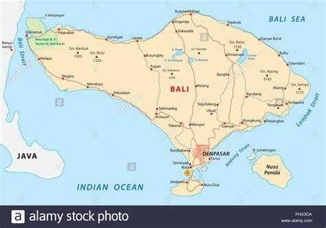 bali map stock vector art illustration vector image