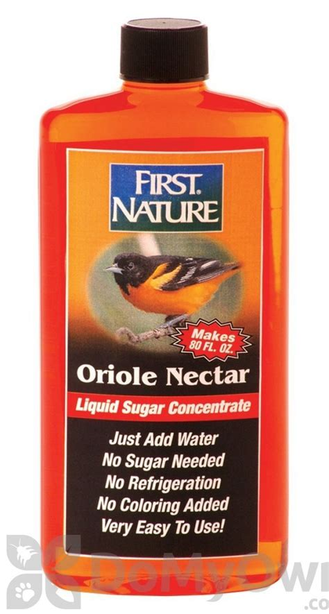 first nature oriole nectar concentrate 3087