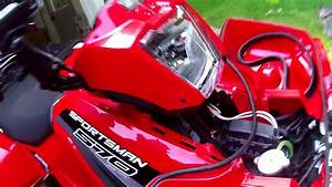 Installing 3500lb Winch On Polaris Sportsman 570