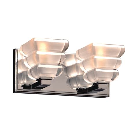 plc pc titan contemporary polished chrome  light