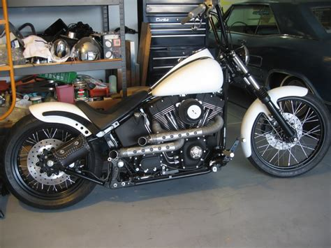 Anybody Do A Softail Bobberchopper? Pics?  Page 2