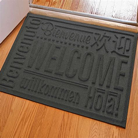 weather guard mats buy weather guard 23 inch x 35 inch welcome door mat in