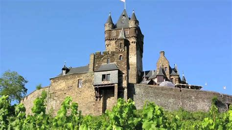 Germany Travel Attractions Reichsburg Castle In Cochem
