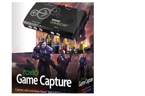 roxio game capture software download