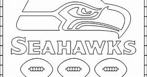 Seattle Seahawks Free Coloring Pages Logos Super Bowl