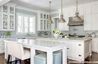 blue and white kitchen 6 Ways to Dress a Kitchen Window | Centsational Girl