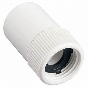 3/4 in Slip x FHT PVC Hose Fitting-53360 - The Home Depot