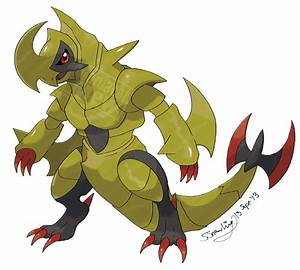 Mega Haxorus by ManiacalMew on DeviantArt