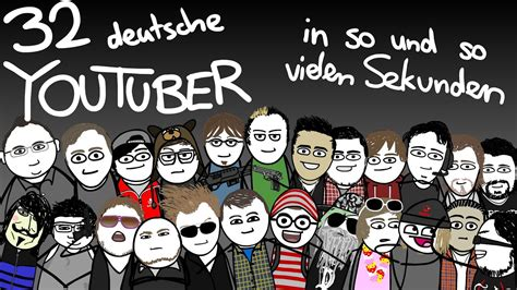 deutsche youtuber  sekunden animation youtube