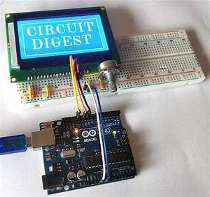 Interfacing Graphical Lcd  St7920  With Arduino