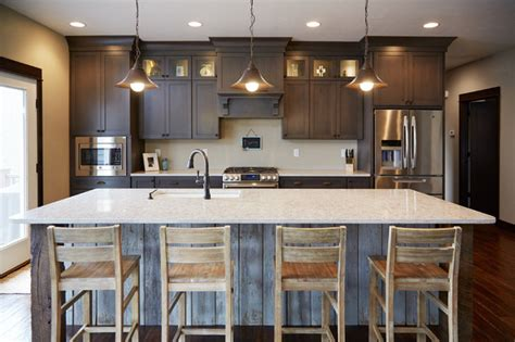 Eat In Island Kitchen - modern kitchen