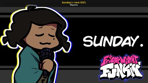 Sunday New Ost Friday Night Funkin Skin Mods