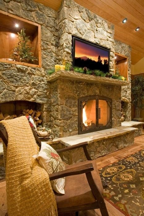 43 Fireplaces To Warm Up With This Winter Porch Advice