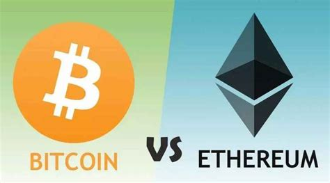 Frazier of the crypto space. Bitcoin vs Ethereum: A side-by-side comparison - FlexiNews