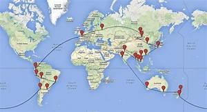 Itineraire Avec Radar : l 39 histoire d 39 un itin raire tour du monde abandonn ~ Medecine-chirurgie-esthetiques.com Avis de Voitures
