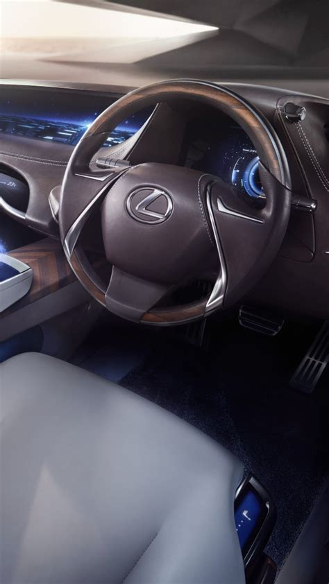lexus lf fc interior wallpaper lexus lf fc concept interior tokyo motor show