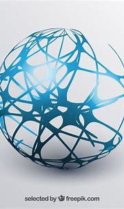 Abstract sphere Vector   Free Download
