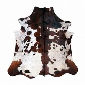 peau de vache naturelle exotique tapis en cuir nuance de With tapis peau de vache avec canapé convertible exotique
