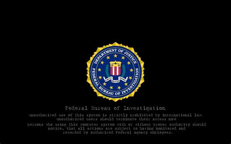 federal bureau of justice top 5 fbi hd desktop wallpapers collection