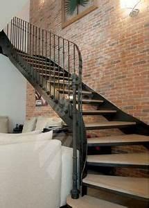 rampe et garde corps palier en fer forge bastide maison With piscine bois leroy merlin 9 marche renovation pour escalier droit leroy merlin