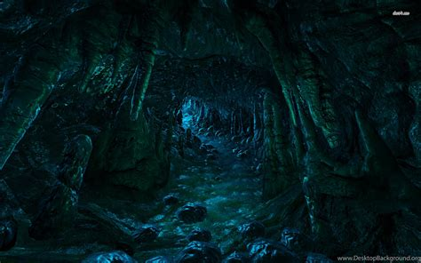 stream   dark cave wallpapers fantasy wallpapers