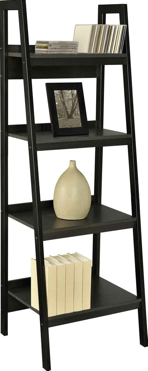 Leaning Bookshelf by Decorating Leaning Bookshelf Design For Your Home