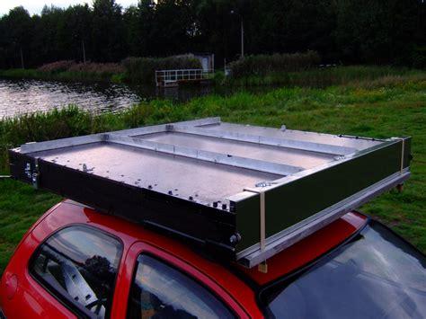 Dachzelt Eigenbau Auf Dem Autodach Zelten So Geht Das