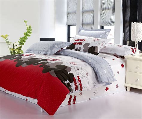 mickey mouse bedding bed   bag gifts  adults girls