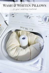 How to wash pillows in the washing machine for Can you wash pillows in the washer