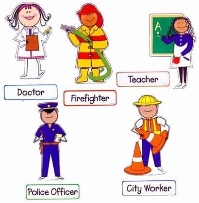 Helpers Community Workers Bulletin Board Kindergarten Theme