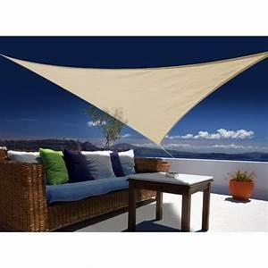 Voile D Ombrage Triangulaire 5m : voile d 39 ombrage triangulaire 5x5x5m 5999 euroutillage ~ Dailycaller-alerts.com Idées de Décoration
