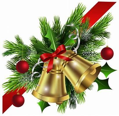 Christmas Corner Clipart Clip Transparent Bells Bow