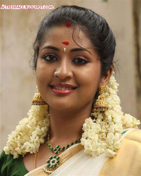 Actress Face Navya Nair Cute Photos