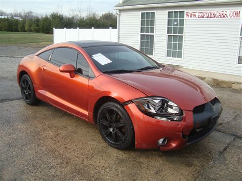 Mitsubishi Eclipse Gt For Sale by 2006 Mitsubishi Eclipse Gt V6 Automatic Leather Salvage