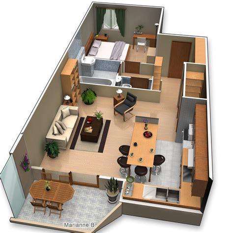 plan de maison en 3d gratuit