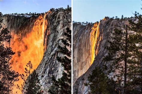 Tail Falls Yosemite National Park Images
