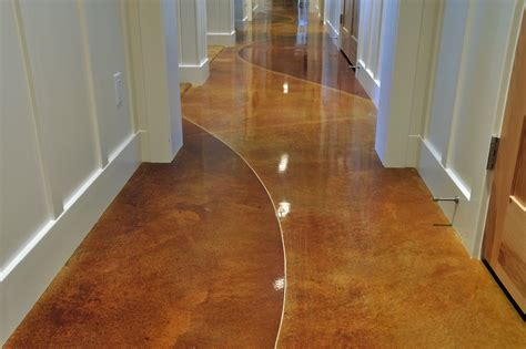sublime staining concrete floors decorating ideas