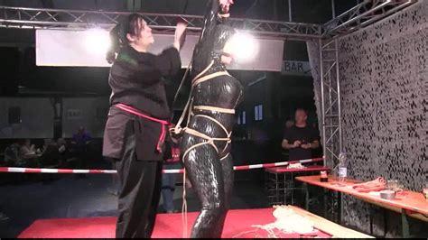 clipspoolcom boundcon xi bondage challenge stage