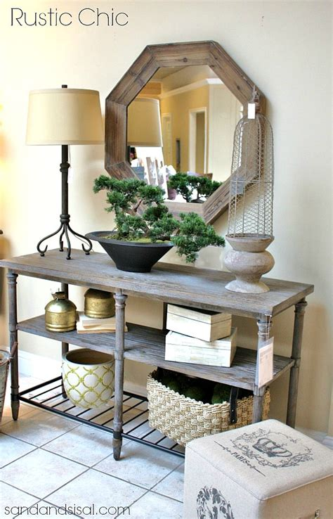 rustic entryway table 27 best rustic entryway decorating ideas and designs for 2016