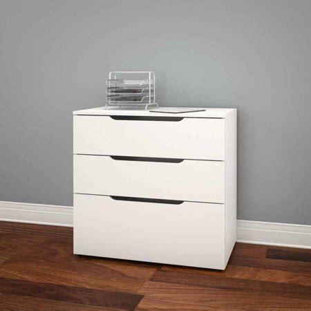 nexera  drawer vertical wood filing cabinet white