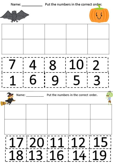 cut paste number recognition writing
