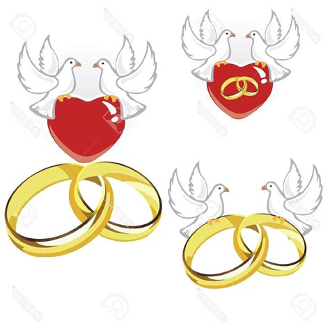 wedding doves holding rings dove clipart explore pictures