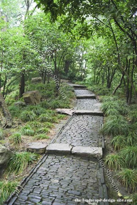 pebble rock landscaping ideas 177 best images about stone paths and walkways on