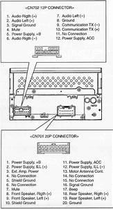 Toyota Car Radio Stereo Audio Wiring Diagram Autoradio