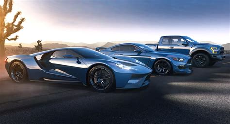 ford gt f 150 raptor and mustang shelby gt350r at 2015