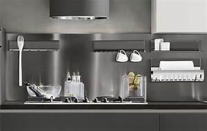 Il sistema magnetika di ronda design mensole librerie e for Accessori cucina design