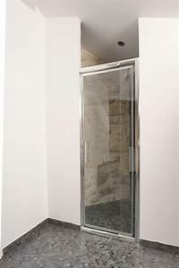 revgercom porte de douche en verre qui explose idee With porte de douche coulissante avec renovation salle de bain versailles