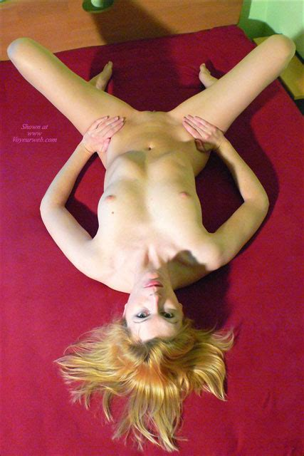 Nude Blonde On Bed Spread Eagle Taken From Above January