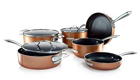 dishwasher safe large black gotham steel  stackable pots  pans stackmaster complete